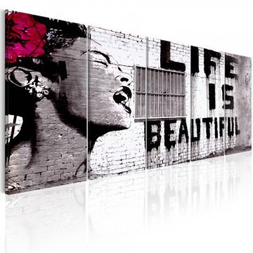 Tablou - Banksy: Life is Beautiful