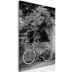 Tablou - Bicycle and Flowers (1 Part) Vertical