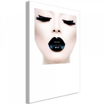 Tablou - Black Lips (1 Part) Vertical