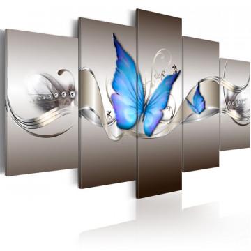 Tablou - Blue butterflies
