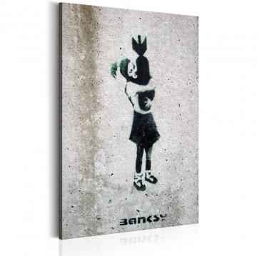 Tablou - Bomb Hugger by Banksy