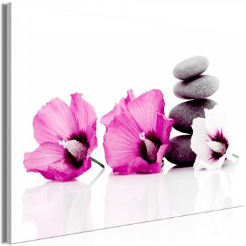 Tablou - Calm Mallow (1 Part) Wide Pink