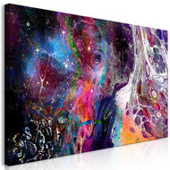 Tablou - Colourful Galaxy (1 Part) Wide