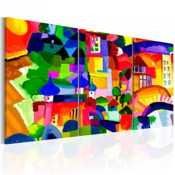Tablou - Colourful Town