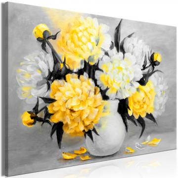 Tablou - Fragrant Colours (1 Part) Wide Yellow