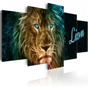 Tablou - Gold lion