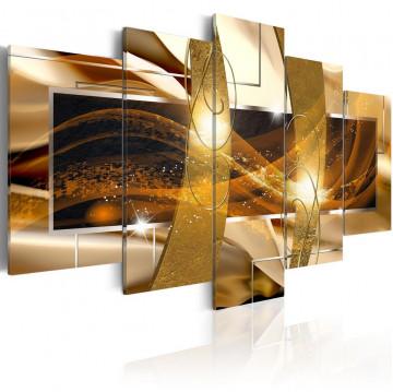 Tablou - Golden Lava
