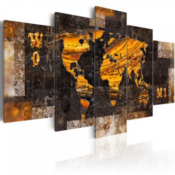 Tablou - Golden Paths
