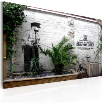 Tablou - Graffiti area (Banksy)