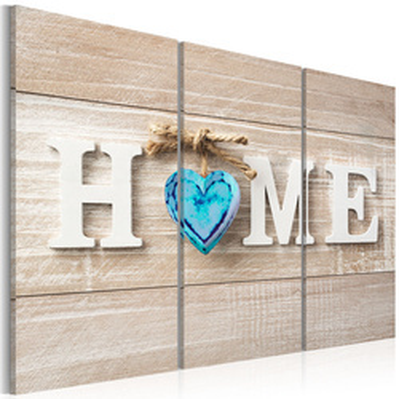Tablou - Home: Blue Love