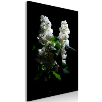 Tablou - Lilacs at Night (1 Part) Vertical
