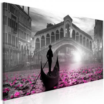 Tablou - Magic Venice (1 Part) Narrow Grey