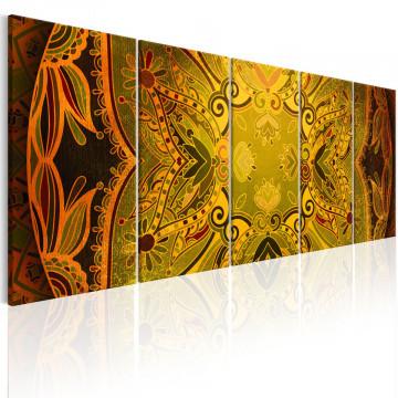 Tablou - Mandala: Flowery Wings