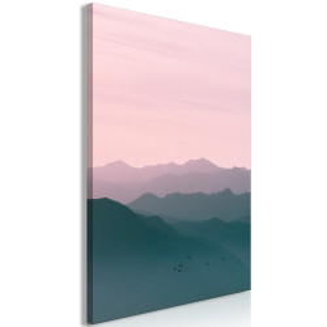 Tablou - Mountain At Sunrise (1 Part) Vertical