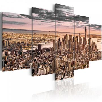 Tablou - New York City: Morning Sky