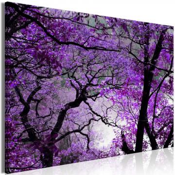 Tablou - Purple Afternoon (1 Part) Wide