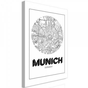 Tablou - Retro Munich (1 Part) Vertical
