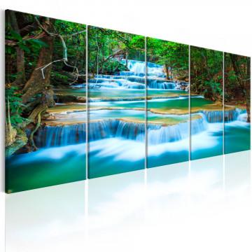 Tablou - Sapphire Waterfalls I