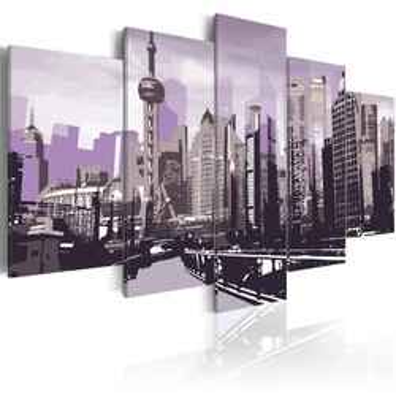 Tablou - Shanghai skyscrapers