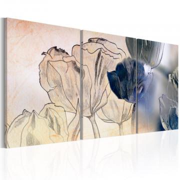 Tablou - Sketch of Tulips