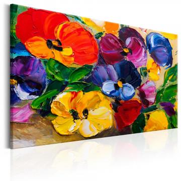 Tablou - Spring Pansies