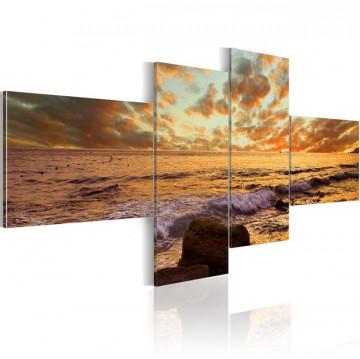 Tablou - Sunset over the sea