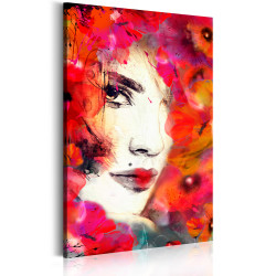 Tablou - Woman in Poppies