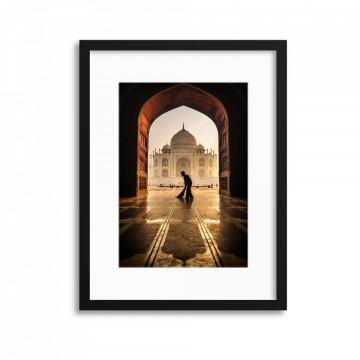 Taj Mahal Caretaker by Pavol Stranak