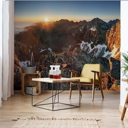 Top Of The Mountains Photo Wallpaper Wall Mural