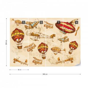 Vintage Planes & Balloons around the World II