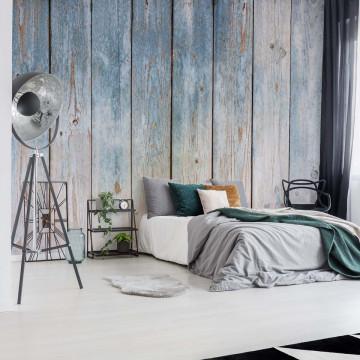 Worn Wood Planks Texture Photo Wallpaper Wall Mural