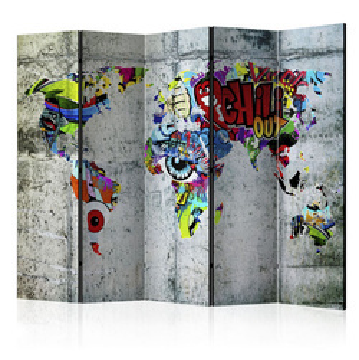 Paravan - Graffiti World [Room Dividers]