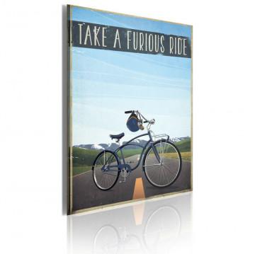 Tablou - Take a furious ride