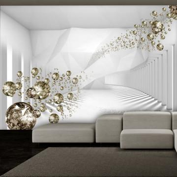 Fototapet - Diamond Corridor