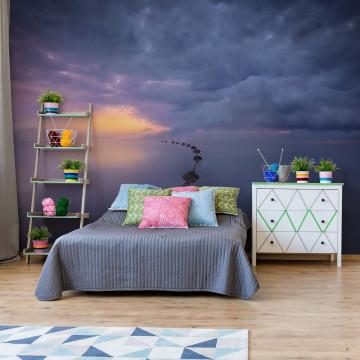Colorful Sunrise Photo Wallpaper Mural