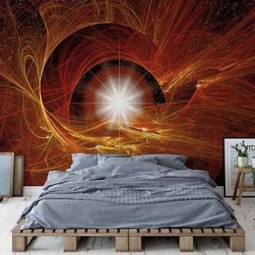 Abtract Design Universe Light Photo Wallpaper Wall Mural