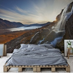 Alpine Awakening Photo Wallpaper Mural