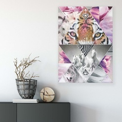 Animals & Living Canvas Photo Print