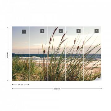 Beach Coastline Photo Wallpaper Wall Mural