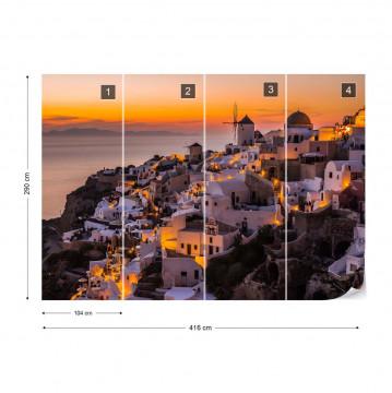 Calispera Santorini Photo Wallpaper Mural