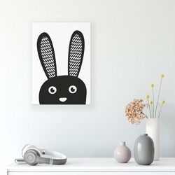 Cartoons & Characters Canvas Photo Print