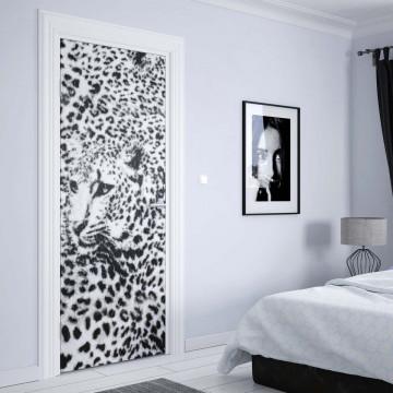 Cheatah Design Black And White Photo Wallpaper Wall Mural