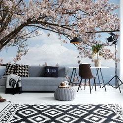Cherry Blossom Tree Photo Wallpaper Wall Mural