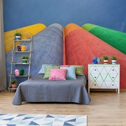 Color Factory Photo Wallpaper Mural