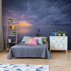 Colorful Sunrise Photo Wallpaper Mural