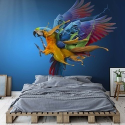 Flying Colours Photo Wallpaper Mural