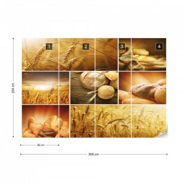 Food Bread Photo Wallpaper Wall Mural