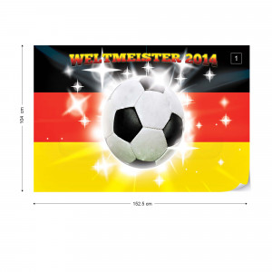Football Germany Weltmeister 2014 Photo Wallpaper Wall Mural