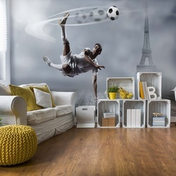 Football Player Paris Photo Wallpaper Wall Mural
