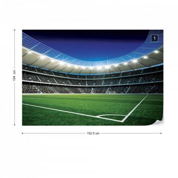 Football Stadium Sport Photo Wallpaper Wall Mural